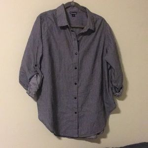 Urban Outfitters Tops - Oversized striped button up